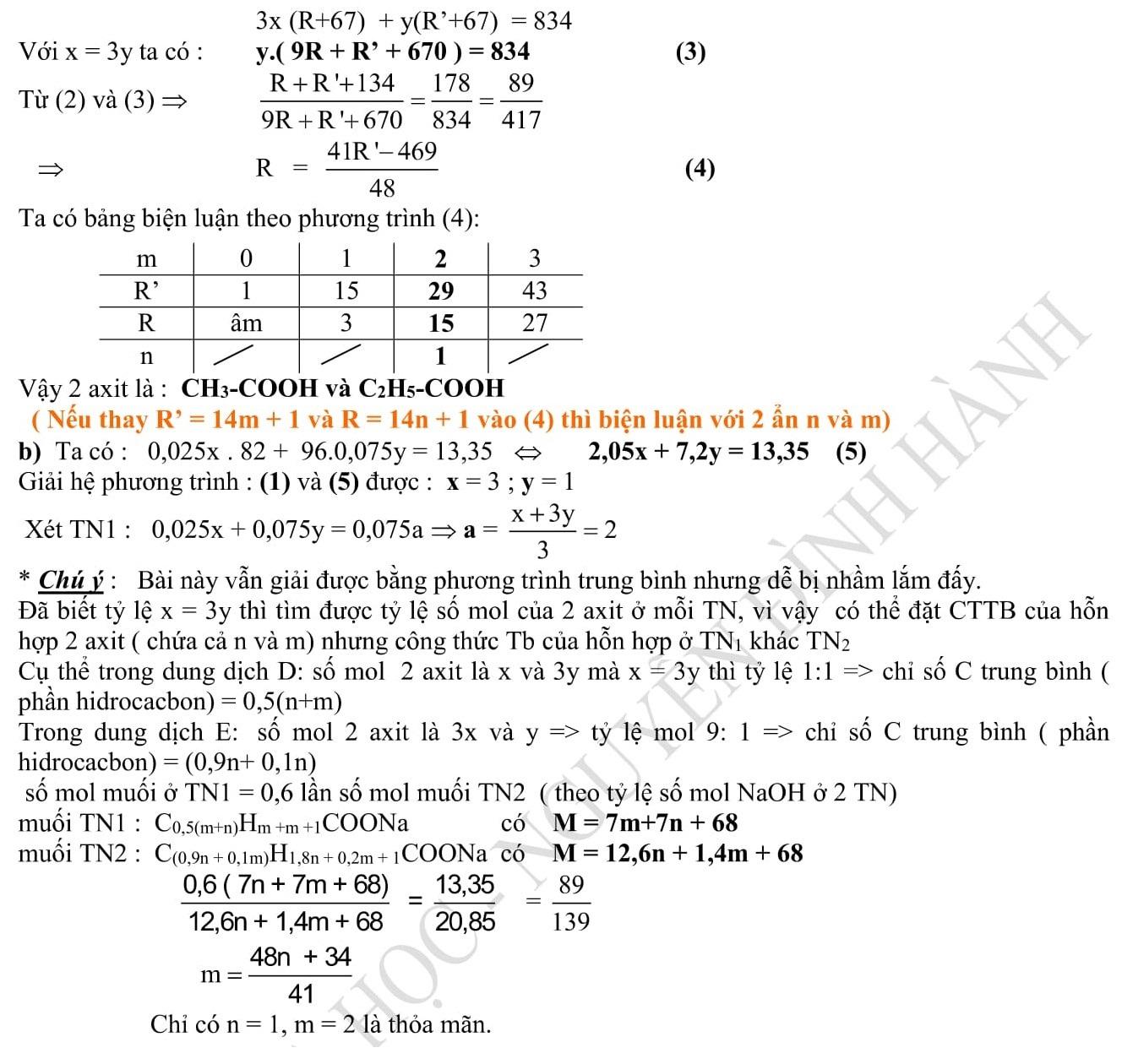 Đáp án và đề thi HSG Hóa Học 9 phòng GD&ĐT Hải Phòng 2010-2011
