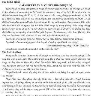Đáp án và đề thi HSG Ngữ Văn 12 sở GD&ĐT Đắk Lắk 2013-2014