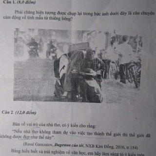 Đề thi học sinh giỏi Văn tỉnh Phú Yên